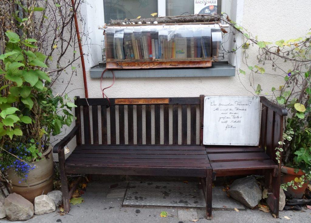 Eine littlefreelibrary in Erfurt